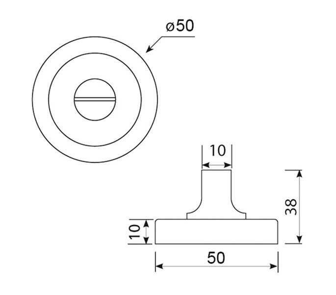 Incredible Thumb Turn Lock For Bathroom Door Locks In Dual Chrome Rose Interior Design Ideas Ghosoteloinfo