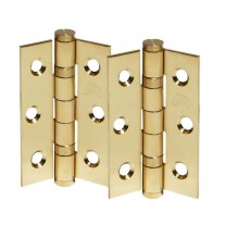3 Inch Satin Brass Butt Door Hinges H302SB