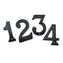Antique Door Numbers for Front Door 3 Inch Numerals 0 - 9 B3350