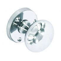 Internal Door Knobs with 52mm Polished Chrome Knob on Rose