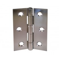 Chrome Door Hinges for Internal Doors - 3 Inch / 75mm Butt Hinges