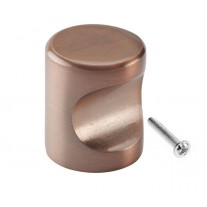 Copper Cabinet Knobs with 22mm Diameter in Copper Finish X8821CU