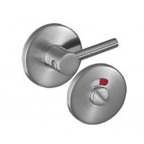 Disabled Toilet Door Lock Set in Satin Stainless Steel