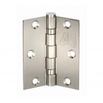 Internal Door Hinges - 3 Inch / 75mm Brushed Stainless Steel Ball Bearing