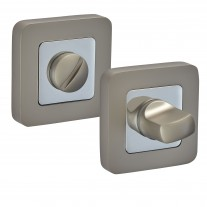 Square Thumb Turn & Release with Duo Satin Chrome Finish F9010DSC