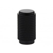 Matte Black Knurled Knobs 14mm X88025BL