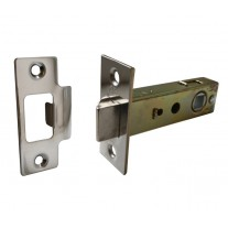 Mortice Door Latch with Polished Chrome Finish - 76mm Overall / 57mm Backset