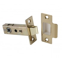 Mortice Latch in Polished Brass - 63mm / 45mm Backset