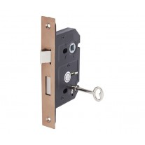 Mortice Sash Lock in Copper Finish 63mm / 45mm Backset