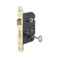 Mortice Sash Lock in Polished Brass Finish 63mm / 45mm Backset