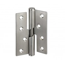 Rising Butt Hinges for Doors - Left Handed - 4 Inch / 100mm