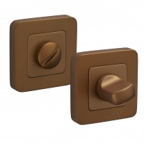 Square Thumb Turn Lock & Release with Satin Brass Finish