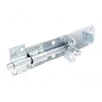 Zinc Garden Gate Bolt 150mm with Integrated Padlock Security